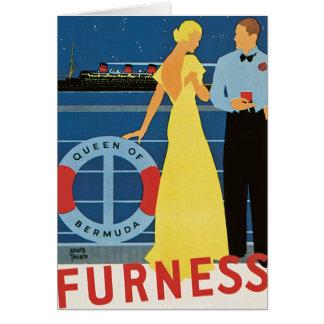 Carte Reine de ~ de Furness des Bermudes