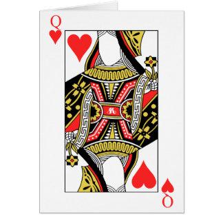 Carte Reine des coeurs - ajoutez votre image