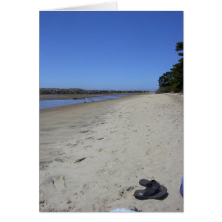 Carte Relaxation de plage