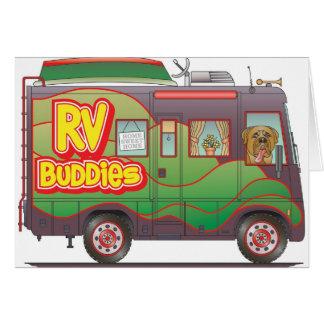 Carte Remorque de campeur d'amis de rv rv