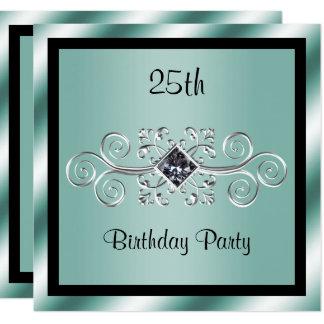 Carte Remous d'argent et 25ème fête d'anniversaire de