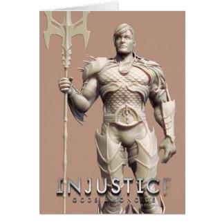 Carte Remplaçant d'Aquaman
