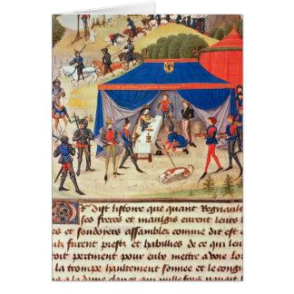 Carte Renaud De Montauban et Charlemagne