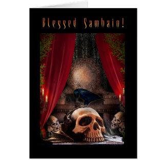 Carte Repaire béni de Samhain - de Ravens