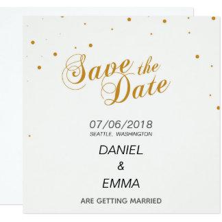 Carte Réservez la date