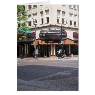 Carte Restaurant d'Atlanta