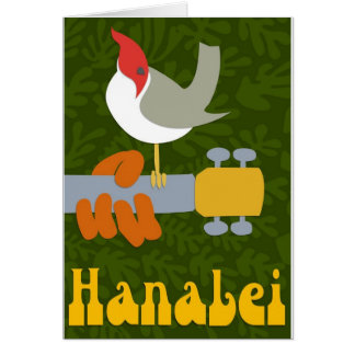 Carte Rétro Hanalei