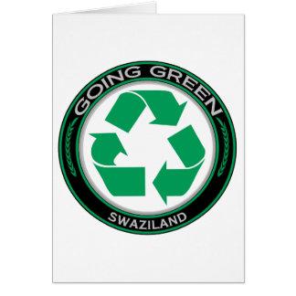Carte Réutilisez le Souaziland
