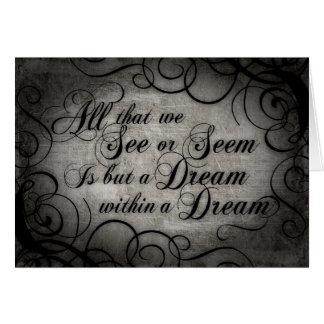 Carte Rêve dans un rêve