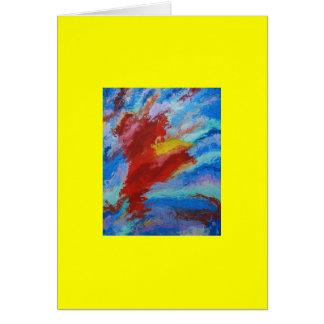 Carte Rêve nébuleux 4 la nébuleuse de Horsehead en Orion