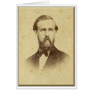 Carte Révérend Andrew Jackson Stafford
