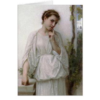 Carte Rêverie - William-Adolphe Bouguereau