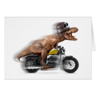 Carte Rex de moto-tyrannosaurus-t de rex de T -