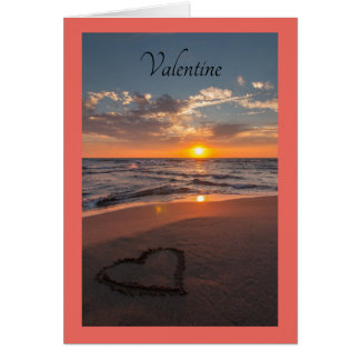 Carte Rivage d'océan de Valentine
