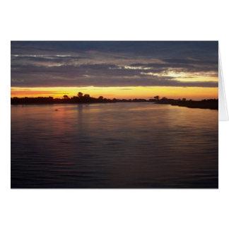Carte Rivière de Manasquan à l'aube