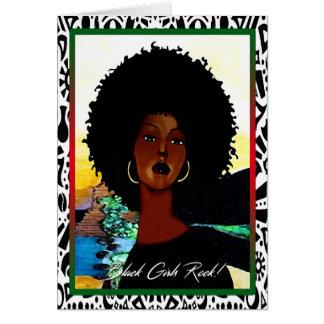 Carte Roche noire de filles !