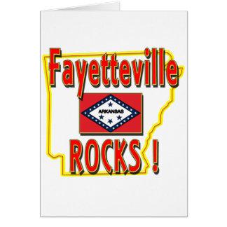 Carte Roches de Fayetteville ! (rouge)