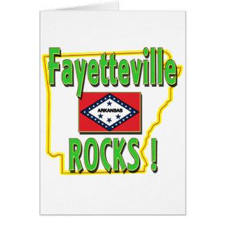 Carte Roches de Fayetteville ! (vert)