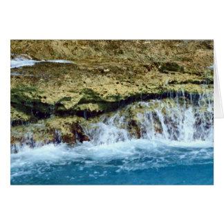 Carte Roches lavées par mer