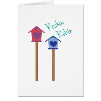 Carte Rockin Robin