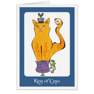 Carte Roi des tasses