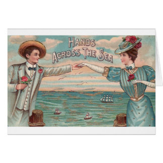Carte Romance de Saint-Valentin de distance