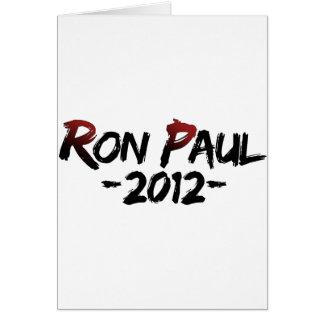 Carte Ron Paul 2012 ! ! !