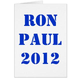 CARTE RON PAUL 2012