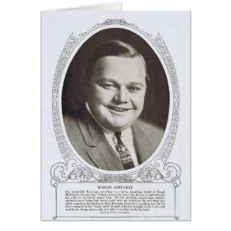 Carte Roscoe Arbuckle 1914