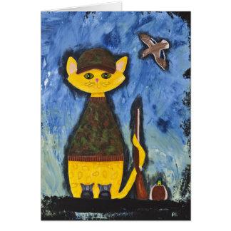 Carte Roscoe, le chasseur de canard de Paisley