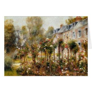 Carte Roseraie Wargemont par Renoir