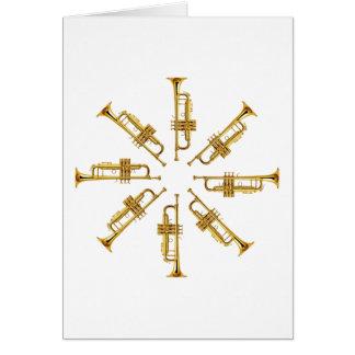 Carte Roue des trompettes