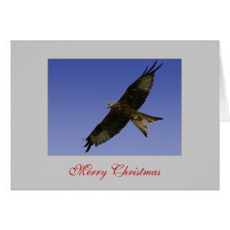 Carte rouge de cerf-volant