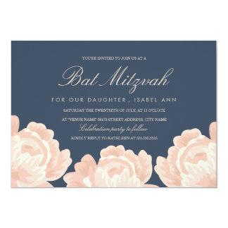 Carte Rougissent le bat mitzvah rose de roses