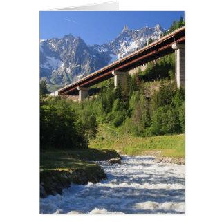 Carte Route alpine