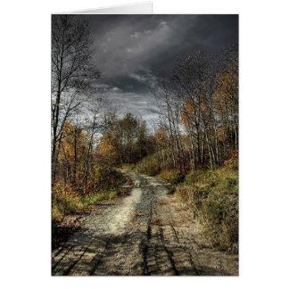 Carte Route d'automnes