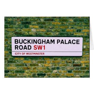Carte Route de Buckingham Palace - Londres