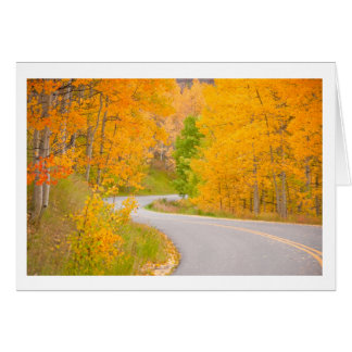 Carte Route pittoresque du Colorado