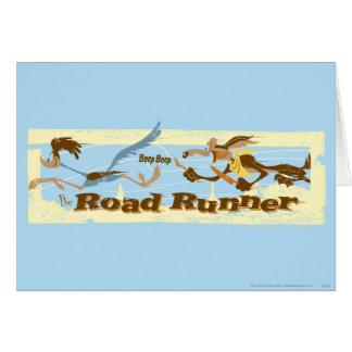 Carte ROUTE RUNNER™ chassée par Wile E. Coyote