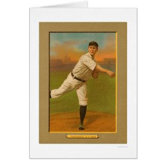 Carte Rube équipant le base-ball 1911 de Yankees