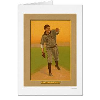 Carte Rube Waddell brunit le base-ball 1911