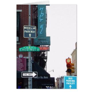 Carte Rue de Philadelphie