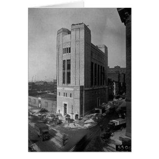 Carte Rue New York City 1928 de Washington d'axe de