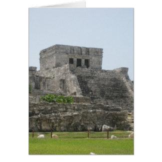 Carte Ruine maya