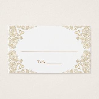 Carte rustique de tâche de Tableau du mariage I