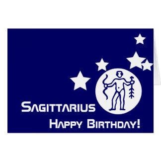 Carte Sagittaire, joyeux anniversaire ! - Personnaliser