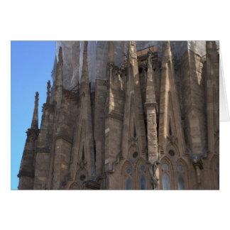 Carte Sagrada Família, Barcelone