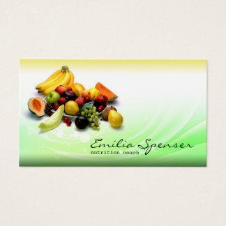 Carte saine de la vie/régime de gradient vert et