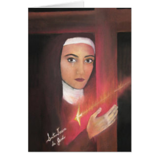 Carte Saint Teresa de Jésus