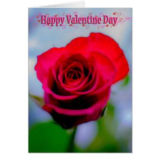 Carte Saint Valentin heureux